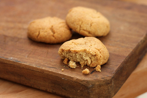 Tahini And Almond Cookies Recipe — Dishmaps