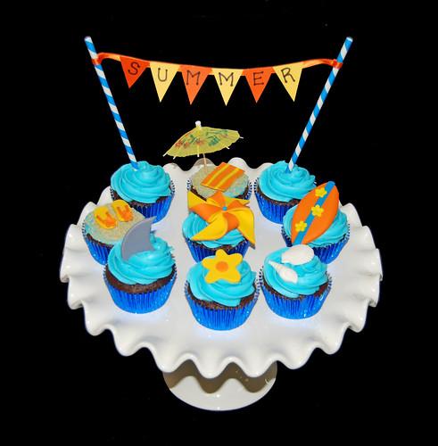 Summer Fun Cupcake Class