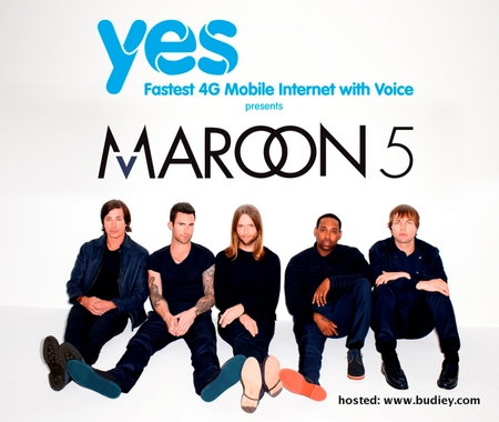 Concert Maroon 5 LIVE at Shah Alam Stadium