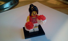 Series 8 Collectible Mini Figs - Cheerleader