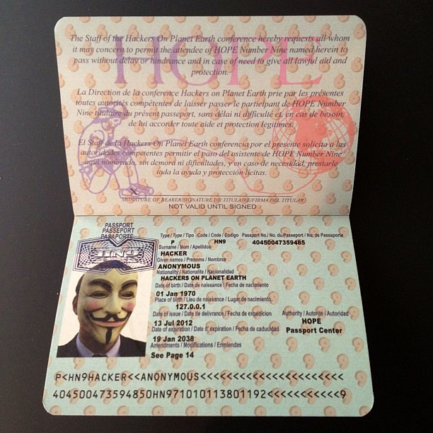 HOPE Passport
