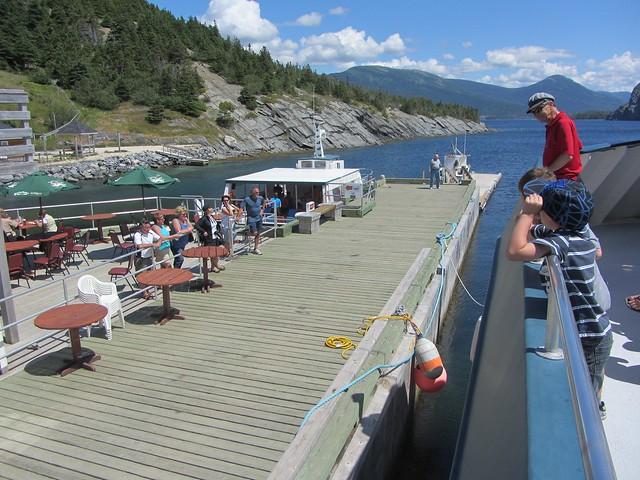 Patio Dock on Bonne Bay