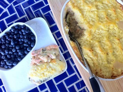 Potato and Fish Pie Wide Angle