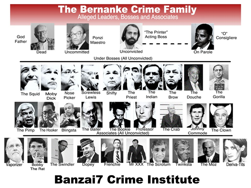 THE BERNANKE CRIME FAMILY (UPDATED)