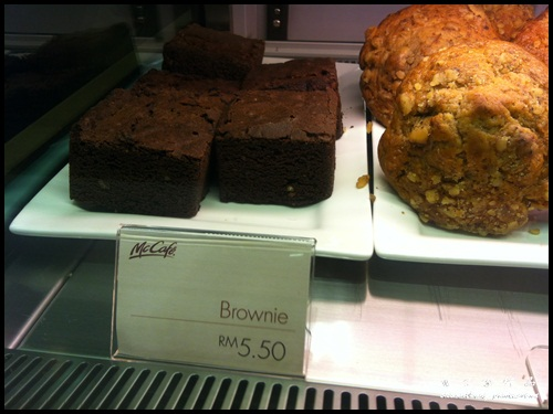 McDonald's McCafé : Brownie