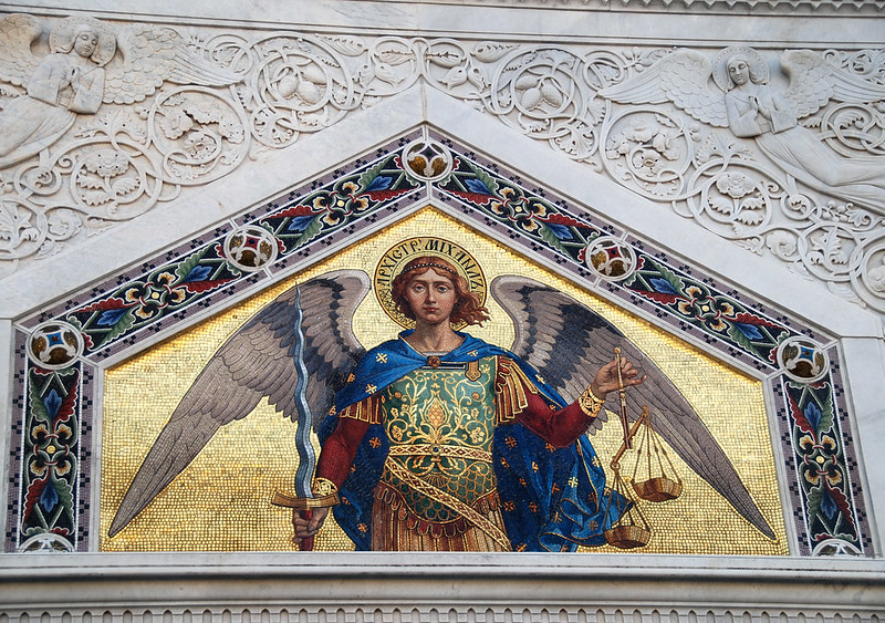 Trieste - An Angelic Aspect of The Greek Orthodox Church of Saint Nicholas