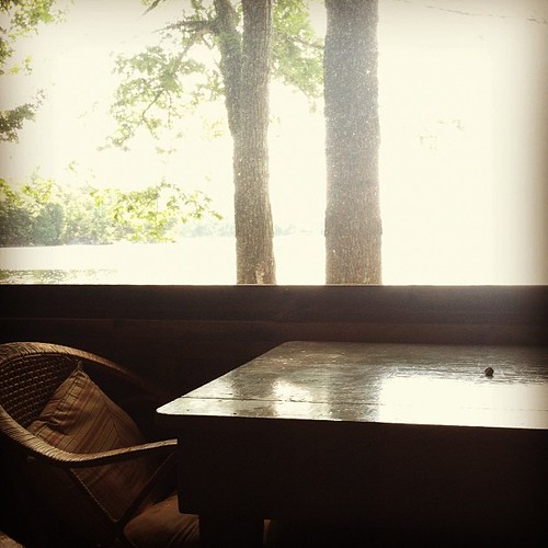 Quiet time. #lakelove