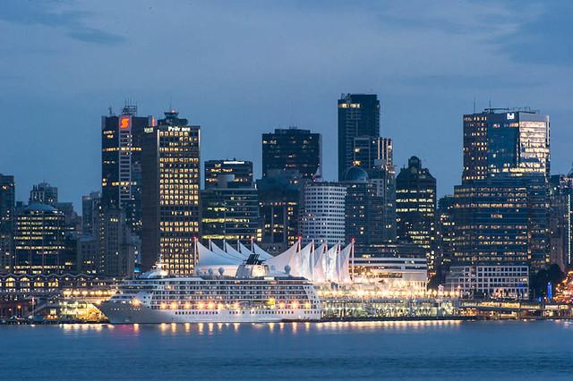 Canada Place Cruise Ship