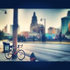 (forgot to post this last night from my downtown bike ride) #ilovekansascity