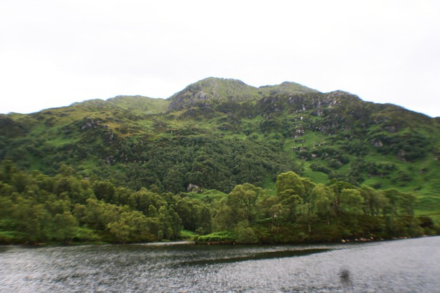 View of Ben Venue from Loch Katrine