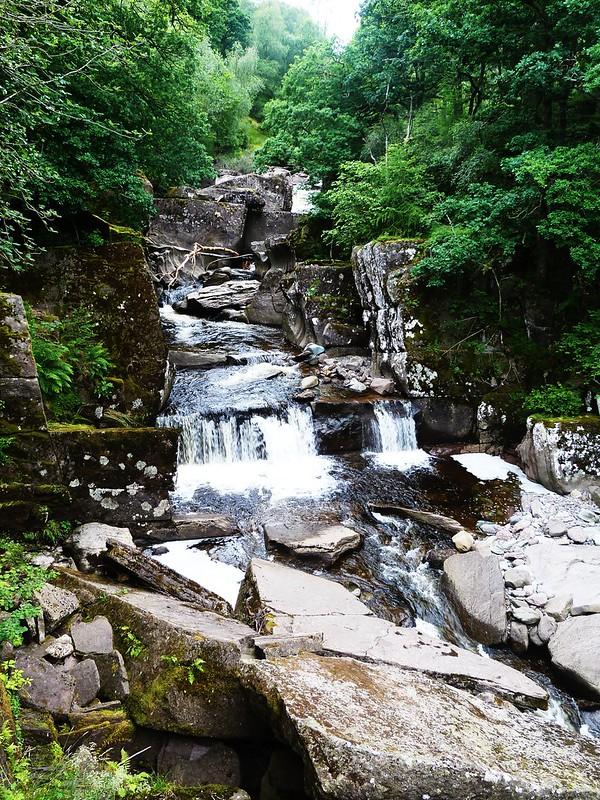 Bracklinn Falls, Callander, Trossachs, Scotland