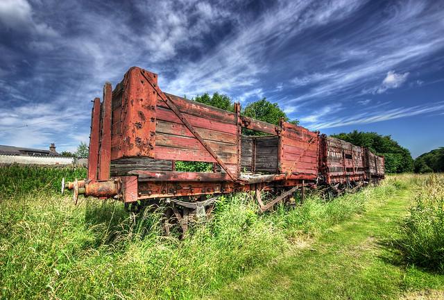 Prestongrange wagons
