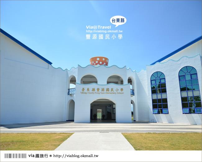 【台東地中海國小】台東豐源國小~一起探訪全台最美的小學!!3