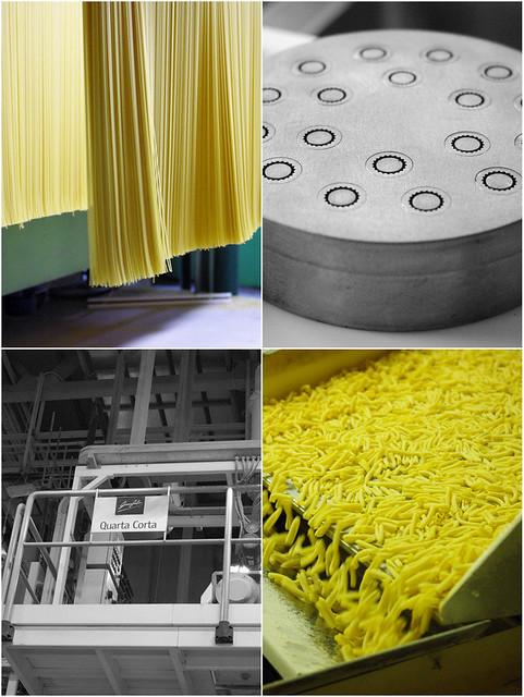 Visite de Garofalo - Fabrication des pâtes alimentaires