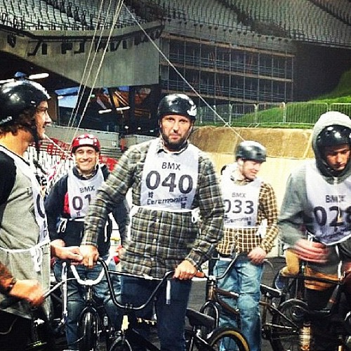 Gutted BMX was cut from the Olympics opening ceremony