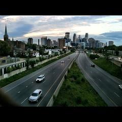 Minneapolis #612 #minneapolis #skyline #mpls #sky