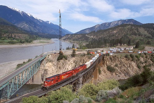 canada britishcolumbia canadianpacific cp lytton emd sd90mac