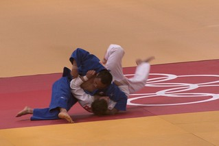 'Cleanest ippon of the day, JPN vs POL for Bronzey' by Gary Hill