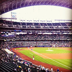 Brewers vs. Nationals, July 27, 2012