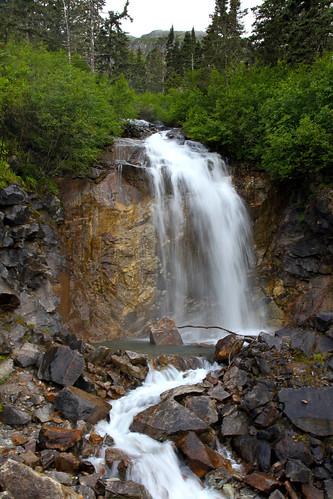Skagway - Bridal Veil Falls - Roadside Stop