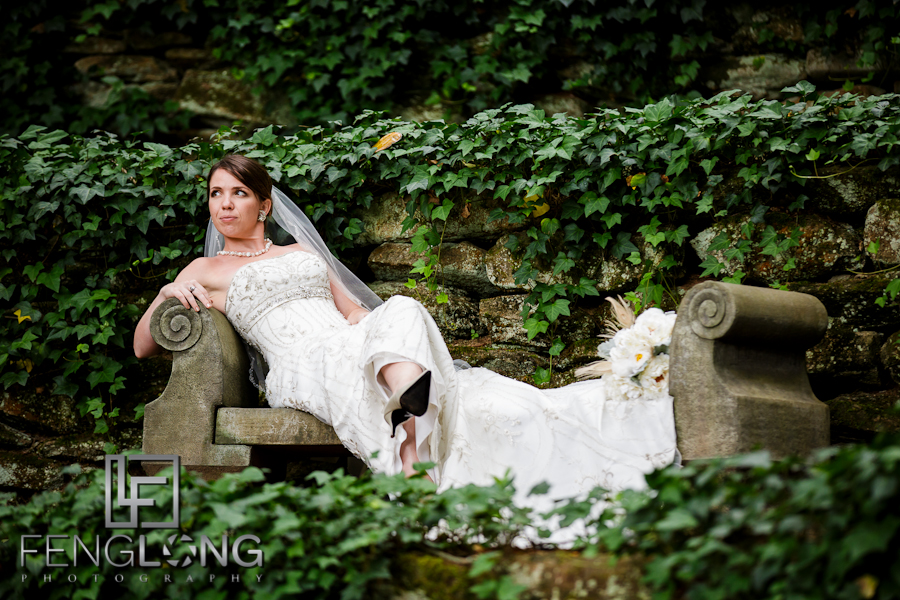 Kera's Bridal Session | Dunaway Gardens | Atlanta Wedding Photographer