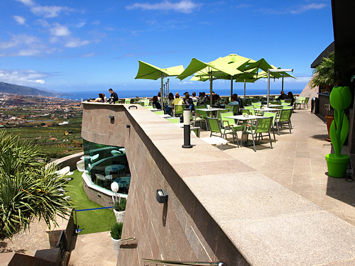 Cafe, Humboldt's Mirador, La Orotava, Tenerife