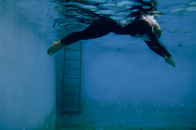 dive and steps