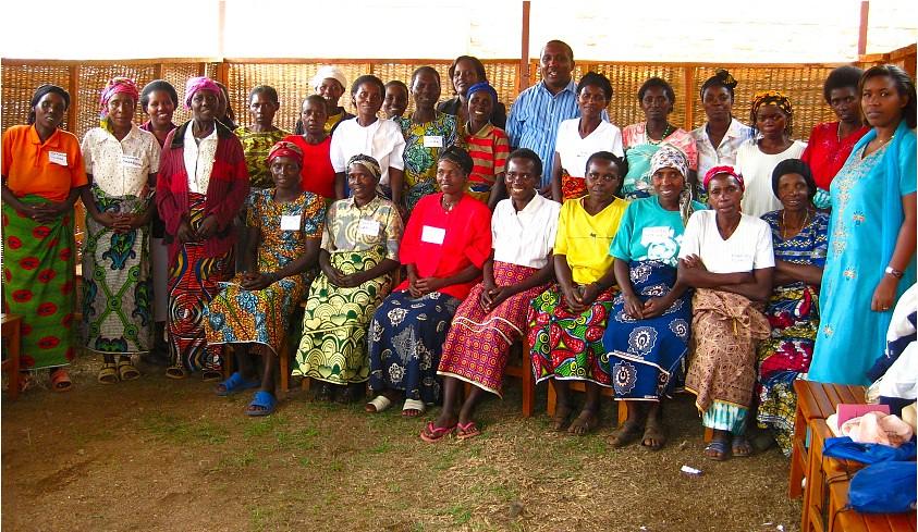 Group Shot: Human Rights Training- Widows