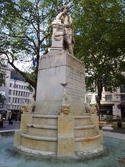 Leicester Square fountain