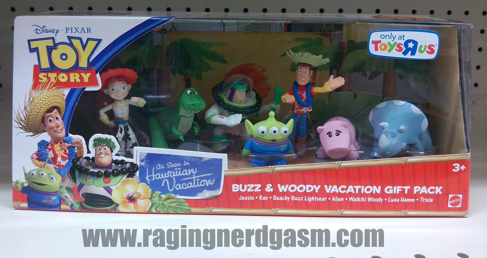 Pixar's Toy story Figurine Gift sets Buzz & woody vaction gift pack_01