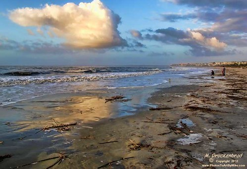 ocean sea sky seascape beach clouds ga georgia landscape seaside sand surf scenic wave brunswick stsimonsisland goldenisles