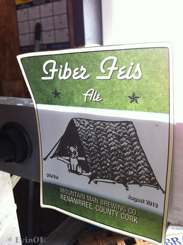 Fiber Feis Ale from Mountain Man Brewing Co. In Renanirree, County Cork