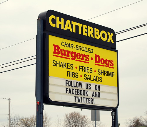 Chatterbox - signage