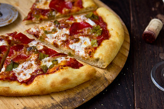 Hatch Chile & Pepperoni Pizza