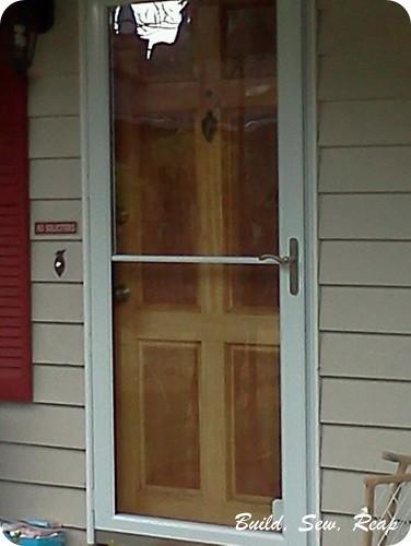 New Storm Door 2012