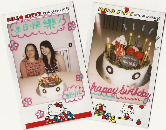 Birthday instax 4-11-2012