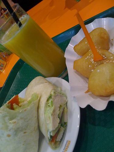 guacamole wrap