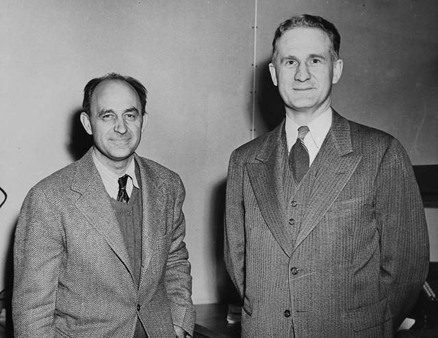 Enrico Fermi and Walter H. Zinn