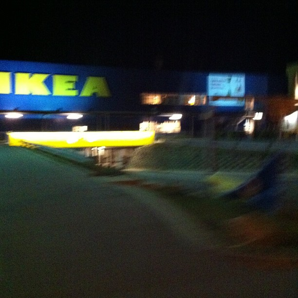 done, 10 k ride from the center to Ikea