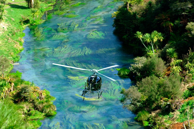 Enchanted river New Zealand