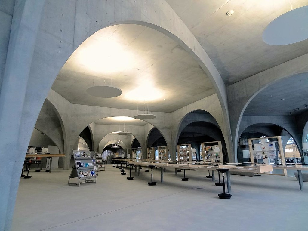 多摩美術大学図書館, Tama Art University Library, Tokyo, Japan
