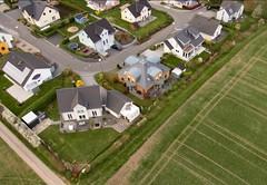 Rittersdorf/Eifel - Drachenluftbilder von den Baugebieten Damesberg und Dameshof und vom Ort