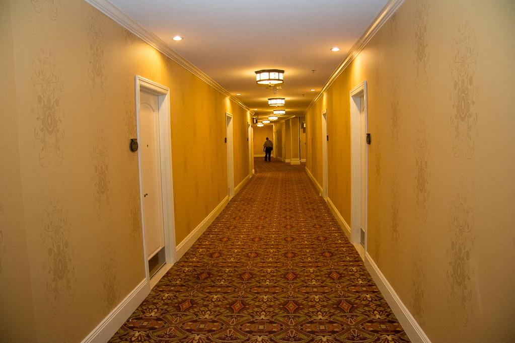 Hallways at Roosevelt Hotel