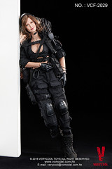 VERYCOOL TOYS VCF-2029 Black Female Shooter - 15