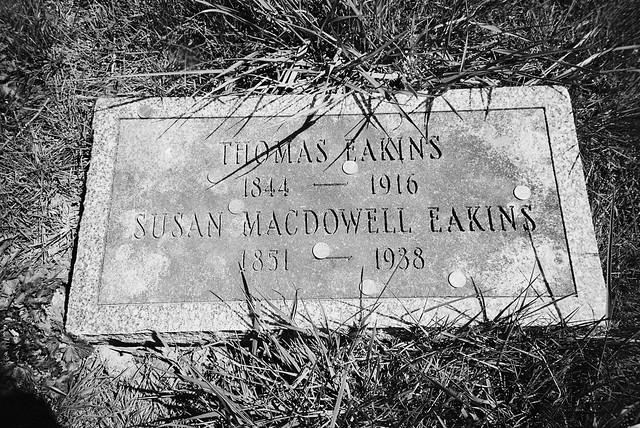 Grave of Thomas Eakins