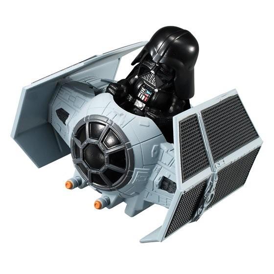 《星際大戰》「Converge Vhicle」新款盒玩續推!!コンバージ ビークル TIE アドバンスト&ビークル Xウイング