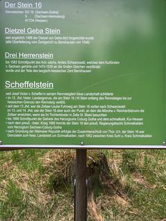 Tafel am Dietzel-Geba-Stein