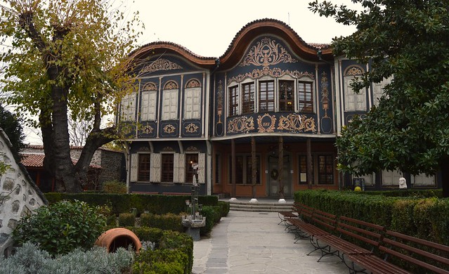 The Royal House Of Kuyumdjioglu In Plovdiv