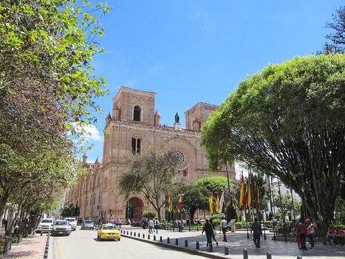 Cuenca: la Nouvelle Cathédrale et le Parc Calderón