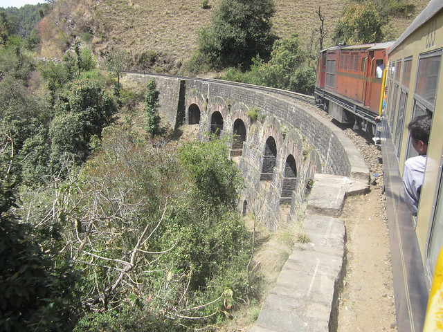 bridge on the Shimla-Kalka railway